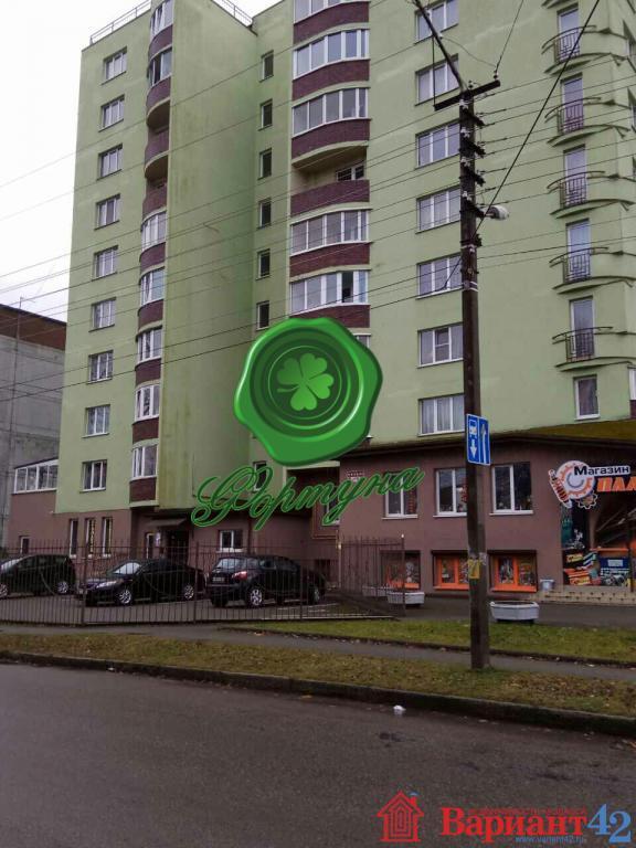 1к квартира на продажу, советск, ул. тургенева, 24б, 46.7 м, 1 9 эт. объявления 248366