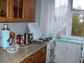 Кухня с пластиковым окном.